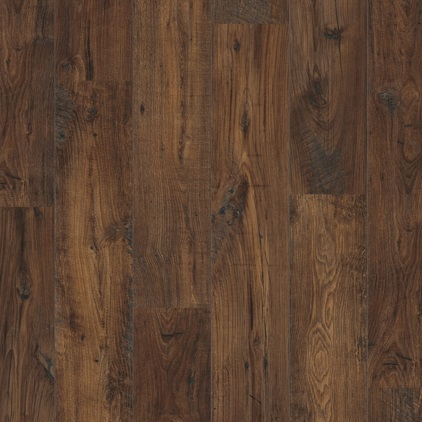Dark brown Perspective Wide Laminate Reclaimed chestnut dark ULW1542